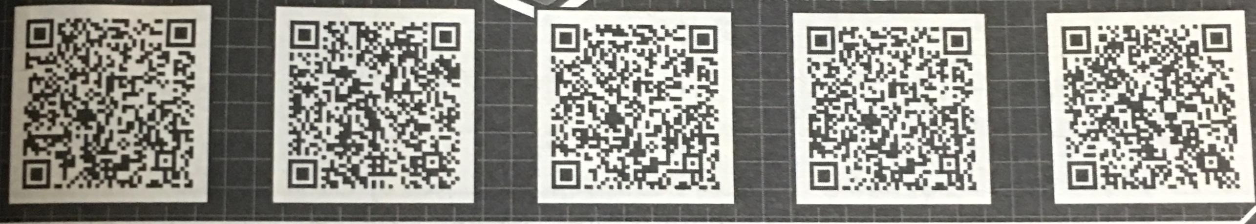 Vジャンプ3月号のスペシャルヒーローコインのQRコード